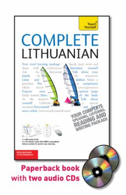Complete Lithuanian: From Beginner to Intermediate [With Paperback Book] 9780071765978