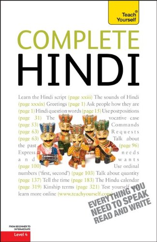 Complete Hindi: From Beginner to Intermediate [With Paperback Book] 9780071766081
