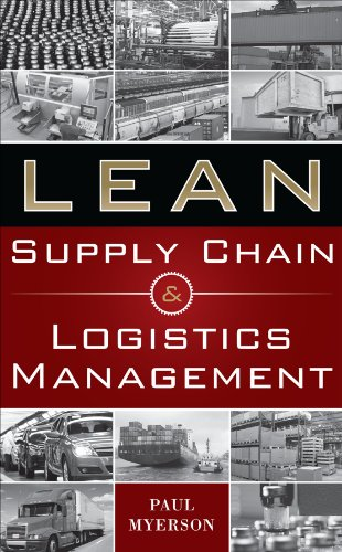 Lean Supply Chain and Logistics Management 9780071766265
