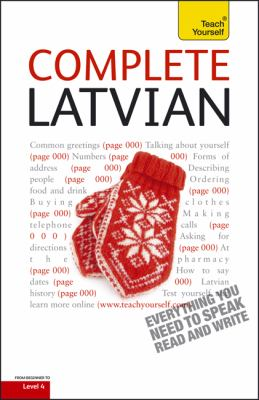 Complete Latvian [With Book(s)] 9780071766289