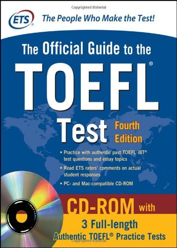 Official Guide to the TOEFL Test , 4th Edition [With CDROM]