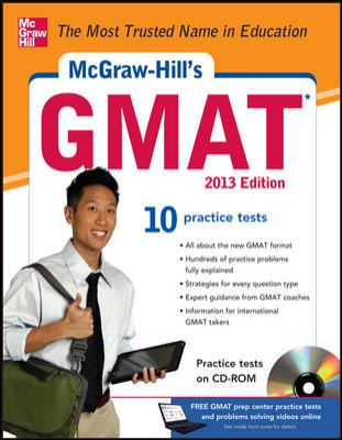 McGraw-Hill's GMAT 2013 Edition [With CDROM] 9780071766975