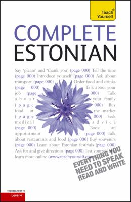 Complete Estonian [With Book(s)] 9780071767125