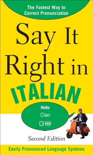 Say It Right in Italian 9780071767750