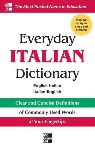 Everyday Italian Dictionary 9780071768818