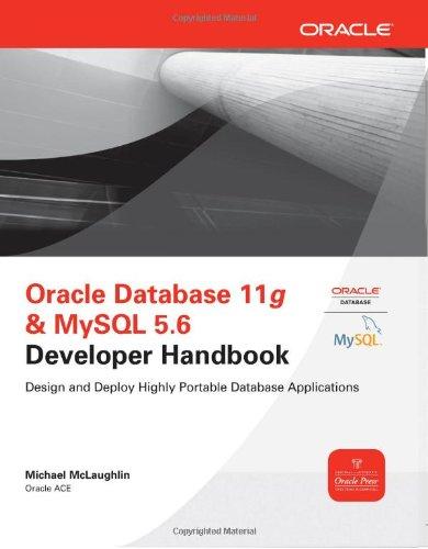 Oracle Database 11g & MySQL 5.6 Developer Handbook 9780071768856