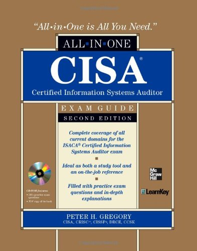 Cisa Certified Information Systems Auditor All-In-One Exam Guide, 2nd Edition 9780071769105