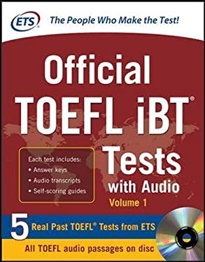 Official TOEFL Ibt Tests with Audio 9780071771269