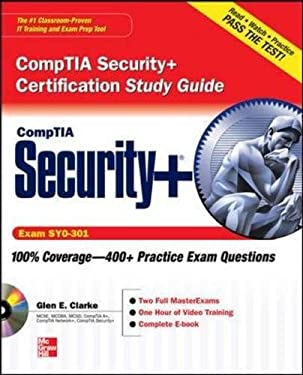 CompTIA Security+ Certification Study Guide: Exam SY0-301 [With CDROM] 9780071771405