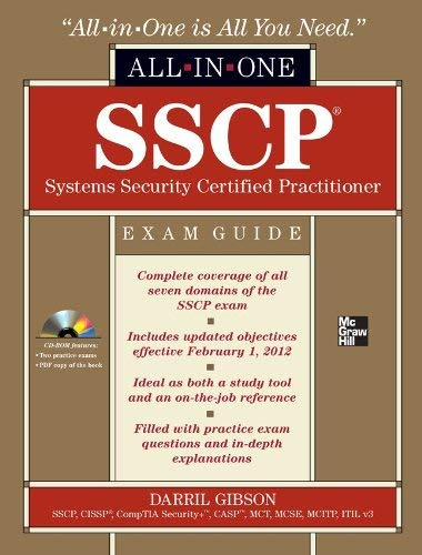 SSCP Systems Security Certified Practitioner Exam Guide: All-In-One [With CDROM] 9780071771566