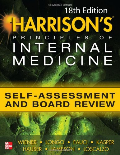 Harrisons Principles of Internal Medicine Self-Assessment and Board Review 18th Edition 9780071771955