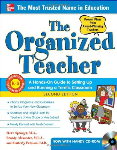The Organized Teacher, 2nd Edition 9780071773218