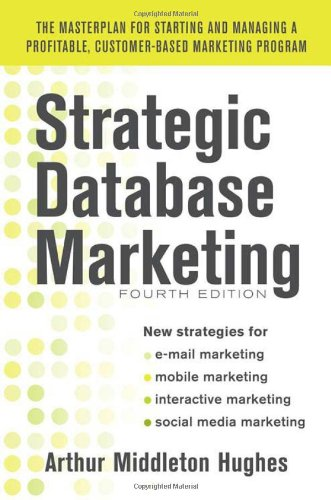 Strategic Database Marketing 9780071773485