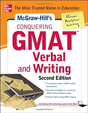 McGraw-Hills Conquering GMAT Verbal and Writing, 2nd Edition 9780071775809