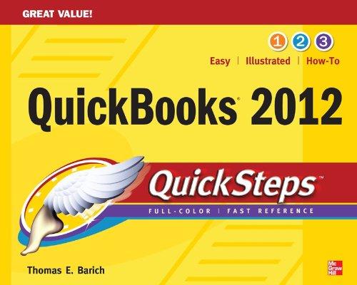 QuickBooks 2012 QuickSteps 9780071775946