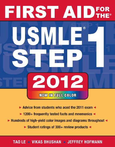 First Aid for the USMLE Step 1 2012 9780071776363