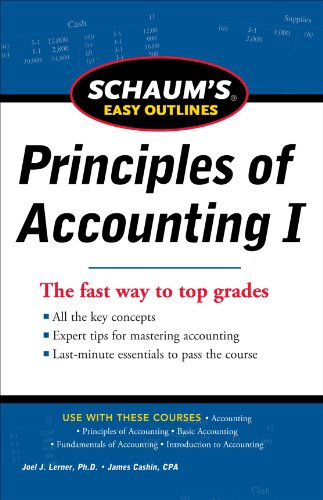 Schaum's Easy Outlines Principles of Accounting 9780071777520
