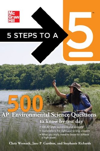 500 AP Environmental Science Questions to Know by Test Day 9780071780742