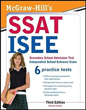 McGraw-Hill's SSAT/ISEE, 3rd Edition 9780071781152