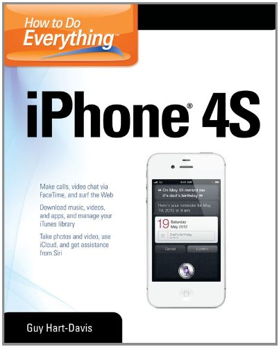 How to Do Everything Iphone 4s 9780071783071