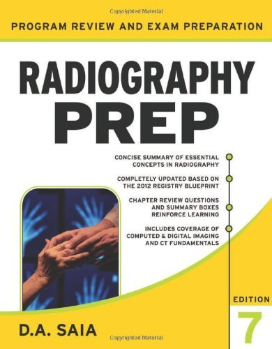 Radiography Prep Program Review and Exam Preparation, Seventh Edition 9780071787048