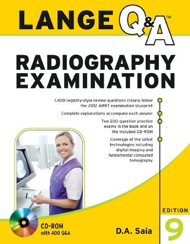 Lange Q&A Radiography Examination [With CDROM]