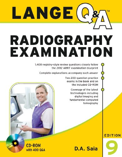 Lange Q&A Radiography Examination [With CDROM] 9780071787215