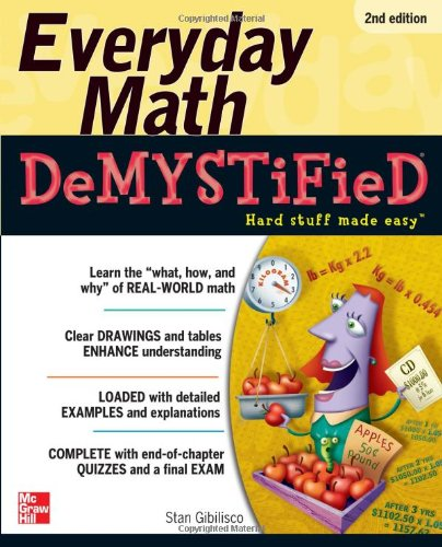Everyday Math Demystified 9780071790130