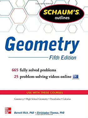 Schaum's Outline of Geometry, 5th Edition 9780071795401
