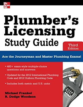 Plumber's Licensing Study Guide, Third Edition 9780071798075