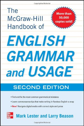 McGraw-Hill Handbook of English Grammar and Usage, 2nd Edition 9780071799904
