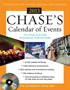 Chases Calendar of Events 2013 [With CDROM] 9780071801171