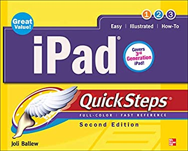 Ipad Quicksteps, 2nd Edition: Covers 3rd Gen Ipad 9780071803717