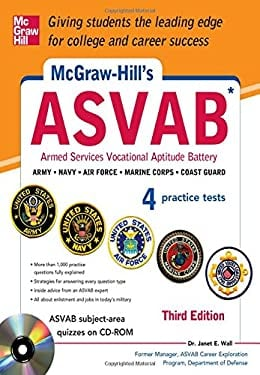 McGraw-Hill's ASVAB , 3rd Edition [With CDROM] 9780071809245