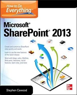 How to Do Everything Microsoft Sharepoint 2013 9780071809832