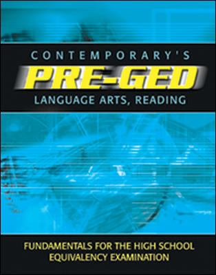 Contemporary Pre-GED Language Arts and Reading 9780072527599