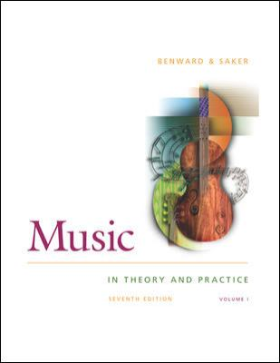Music: In Theory and Practice : Spiral