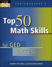Top 50 Math Skills for GED Success - Student Text Only