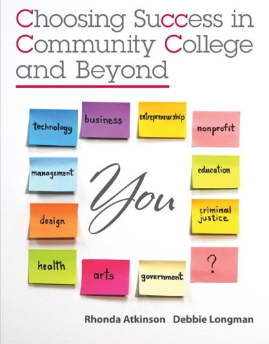 Choosing Success in Community College and Beyond 9780073375182