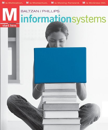 M: Information Systems 9780073376837