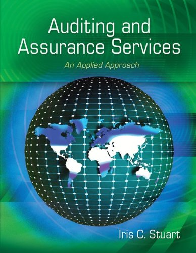 Auditing and Assurance Services: An Applied Approach 9780073404004