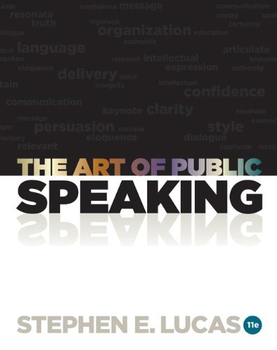 The Art of Public Speaking 9780073406732