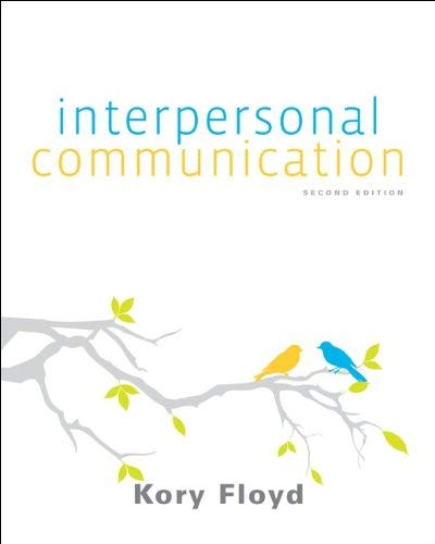 Interpersonal Communication 9780073406756