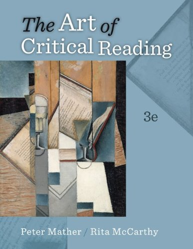 The Art of Critical Reading - 3rd Edition