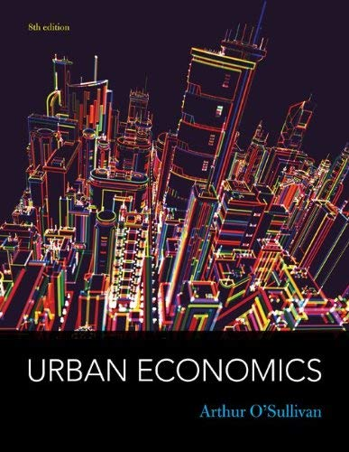 Urban Economics - 8th Edition