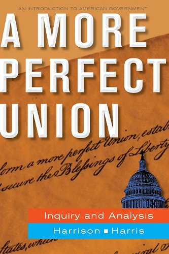 A More Perfect Union: Inquiry and Analysis 9780073526386