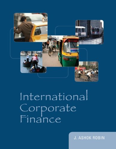 International Corporate Finance 9780073530666