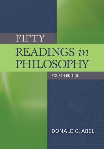 Fifty Readings in Philosophy 9780073535807