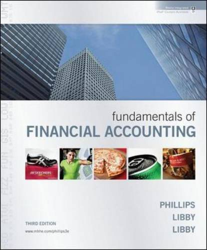 Fundamentals of Financial Accounting with Annual Report 9780077344931