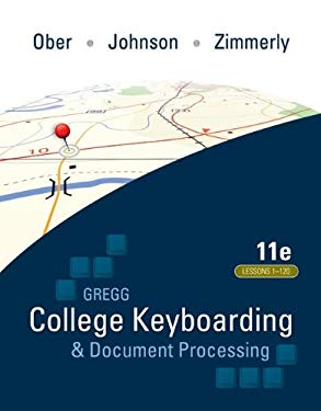 College Keyboarding & Document Processing: Word 2010: Kit 3: Lessons 1-120 [With Software Registration Card and 2 Paperbacks and Easel] 9780077356620